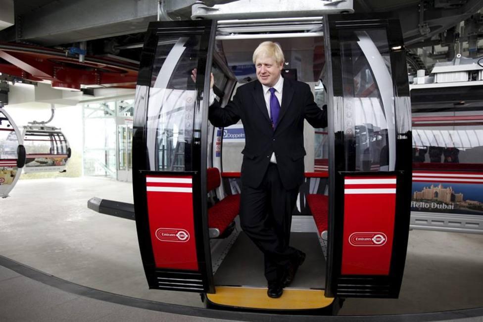 El primer ministro británico Boris Jonhson en una imagen de archivo
