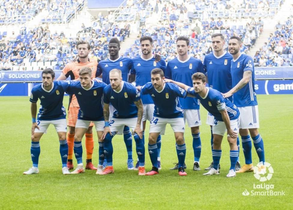 El once del Real Oviedo ante el Girona
