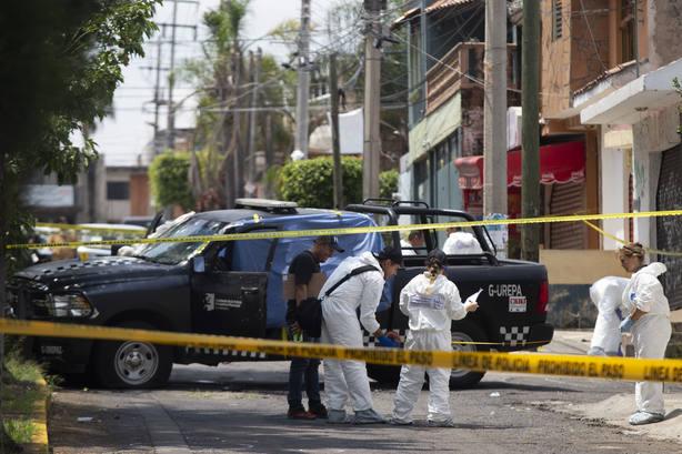 Cuatro policías mueren en México a manos del crimen organizado
