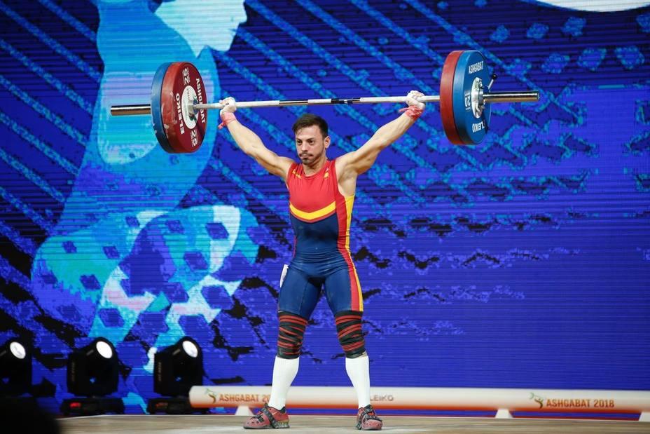 Brachi, bronce en arrancada en menos 55 kilos en el Mundial de Turkmenistán