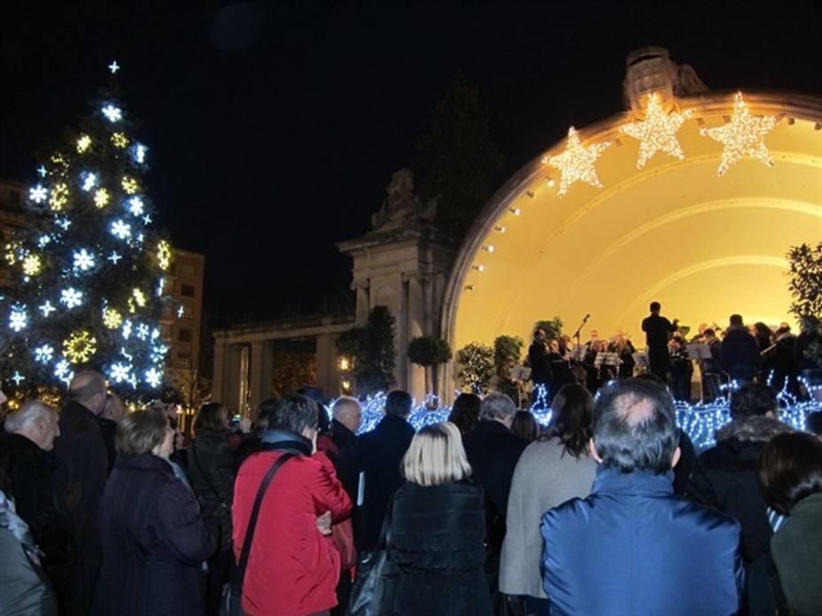 Mañana viernes, se procederá al encendido oficial del alumbrado navideño en Logroño