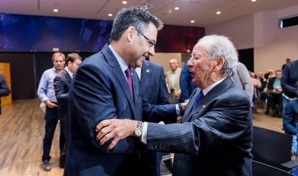 Bartomeu: Con Núñez el Barça renovó su mentalidad para situarse como club ganador