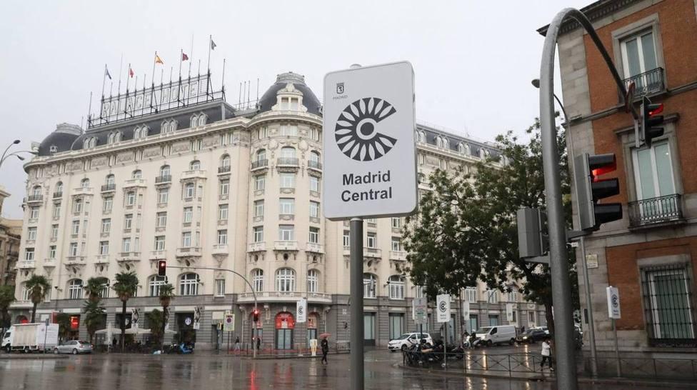 Una p de pobre contra Madrid Central