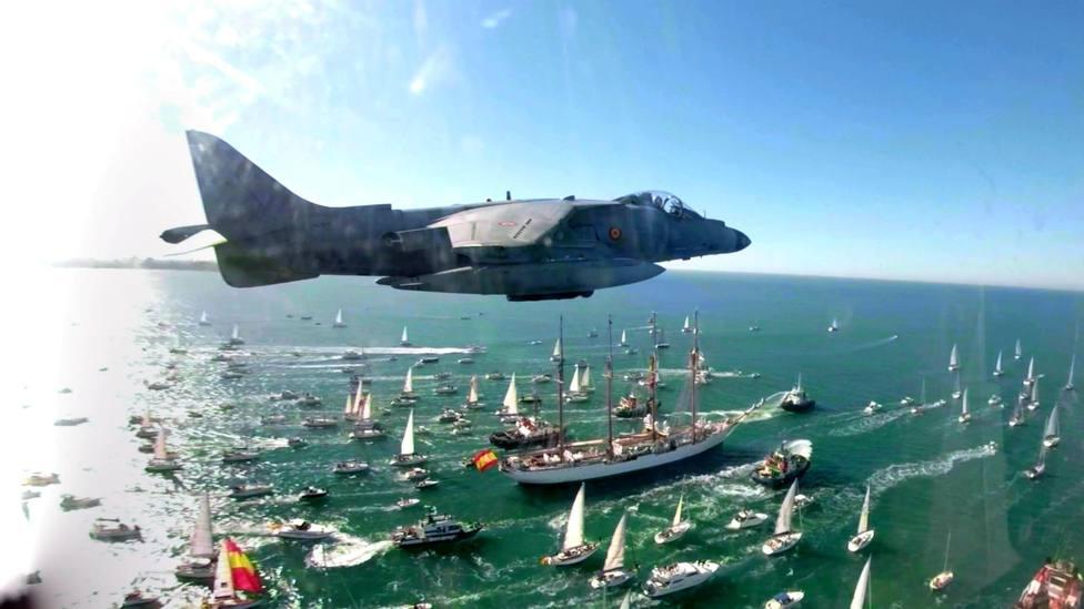Una foto mágica del Juan Sebastián Elcano