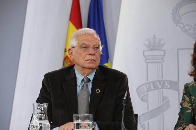Borrell al Financial Times: No se pueden resolver problemas imaginarios de separatistas que viven un mundo virtual