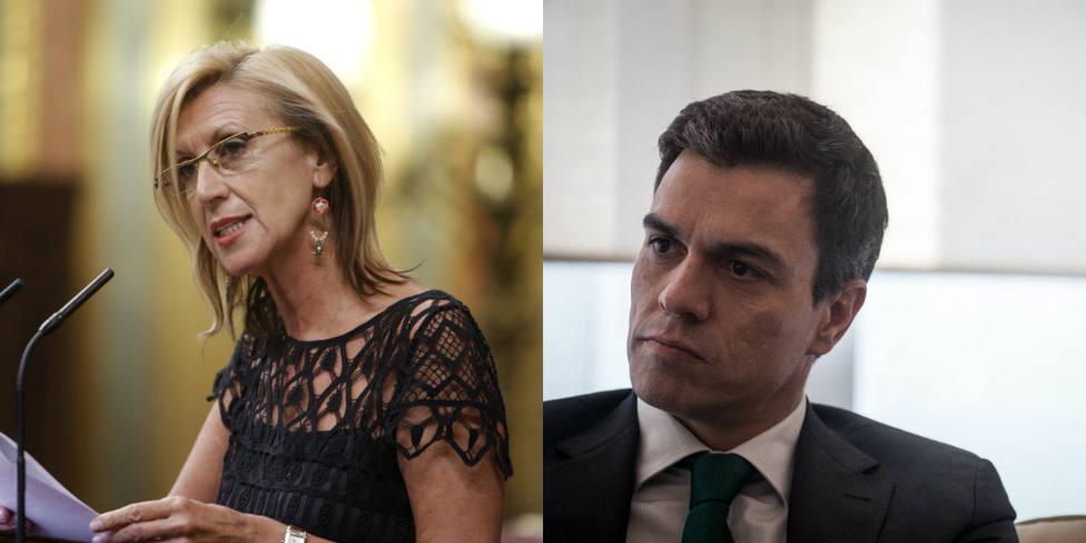 Rosa Díez hunde a Pedro Sánchez en una frase