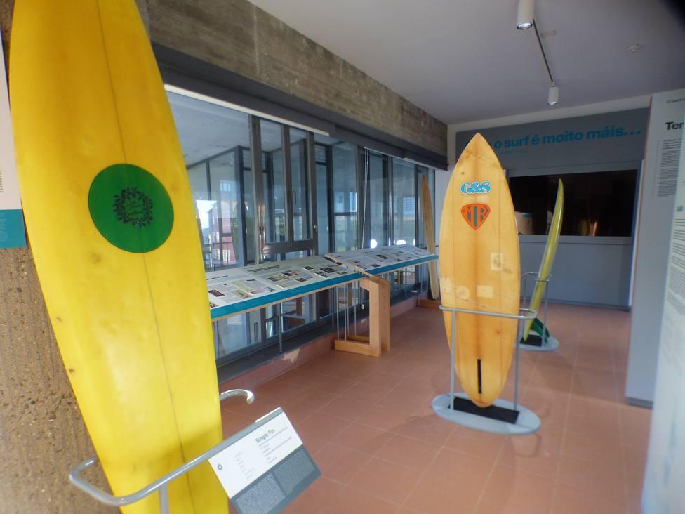 El museo del surf de Valdoviño es único en el país