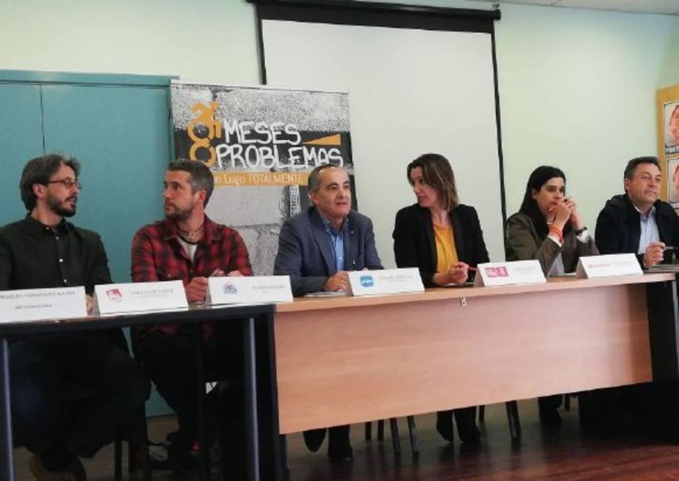 Lugo a debate: Los candidatos hablan sobre la peatonalización de la Ronda