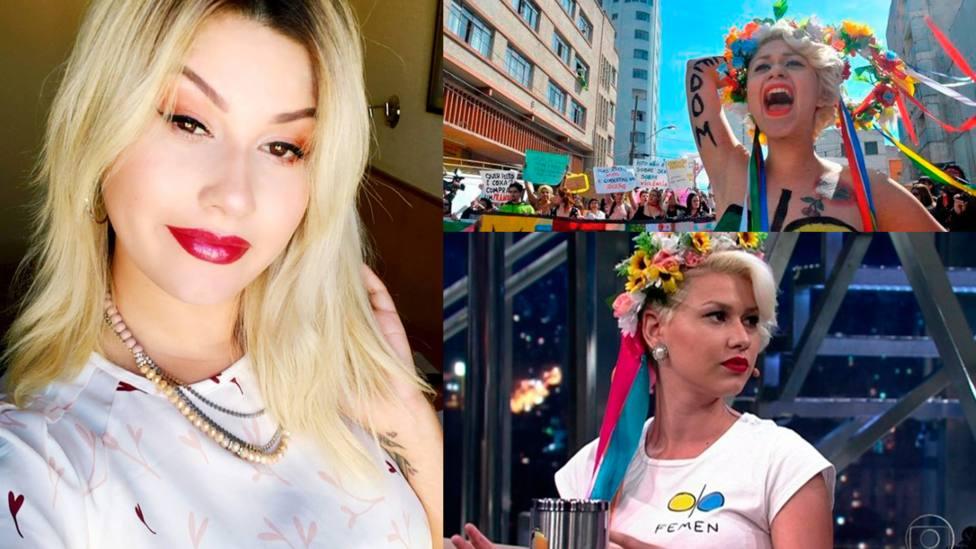 La historia de Sara Winter: De liderar FEMEN en Brasil a ser firme defensora de la vida