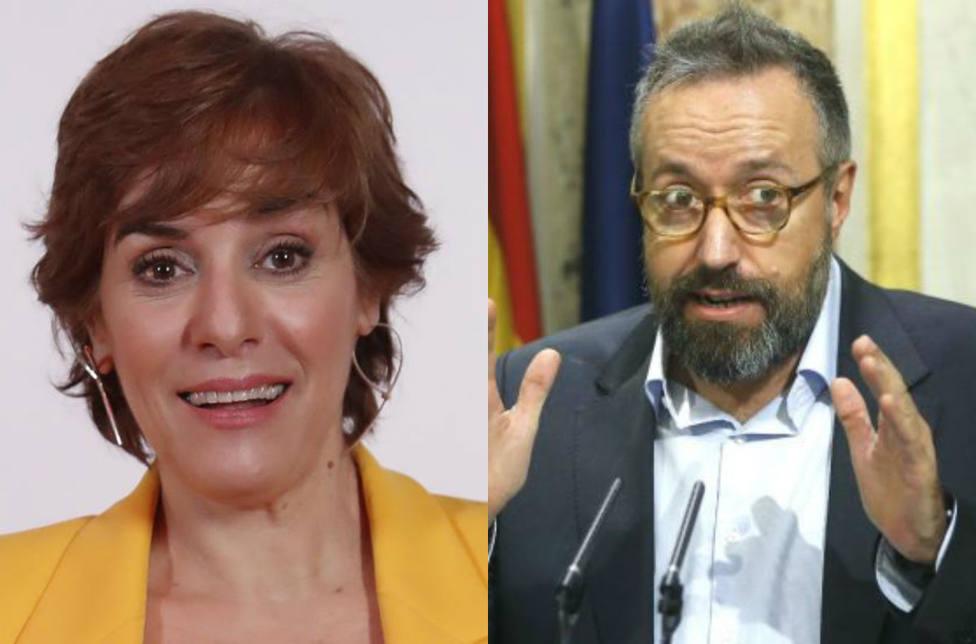 El intercambio de golpes entre Anabel Alonso y Girauta a costa de la salud de Albert Rivera