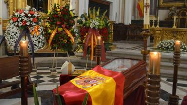 Capilla ardiente del Cardenal Estepa en el Arzobispado Castrense, en Madrid   María Pazos Carretero