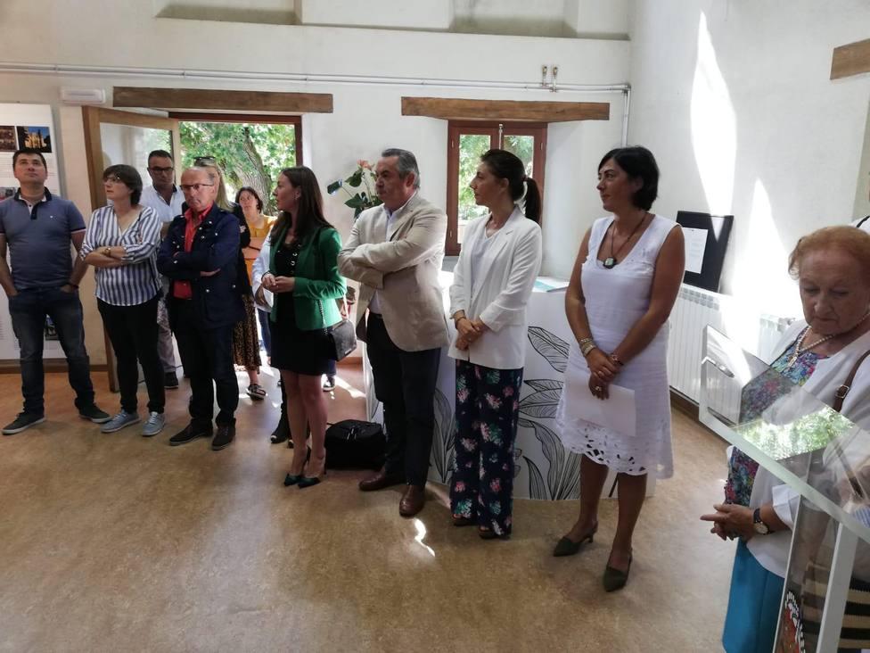 Momento de la inauguración del Centro Etnográfico de Vilar