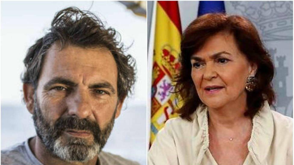 La grave acusación del Open Arms a Carmen Calvo de la que saldrá ganando Salvini: es ridícula