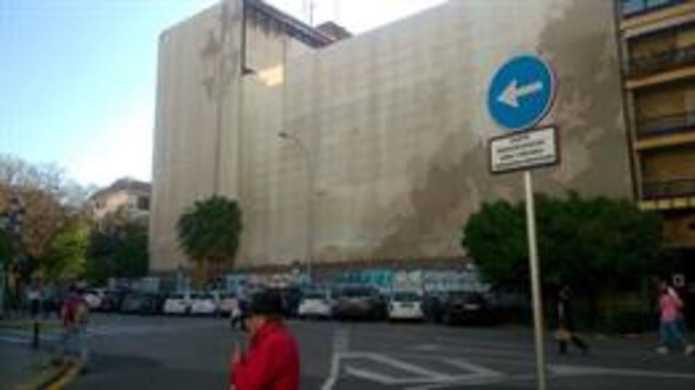 Edificio de la antigua comisaria de policia de La Gavidia