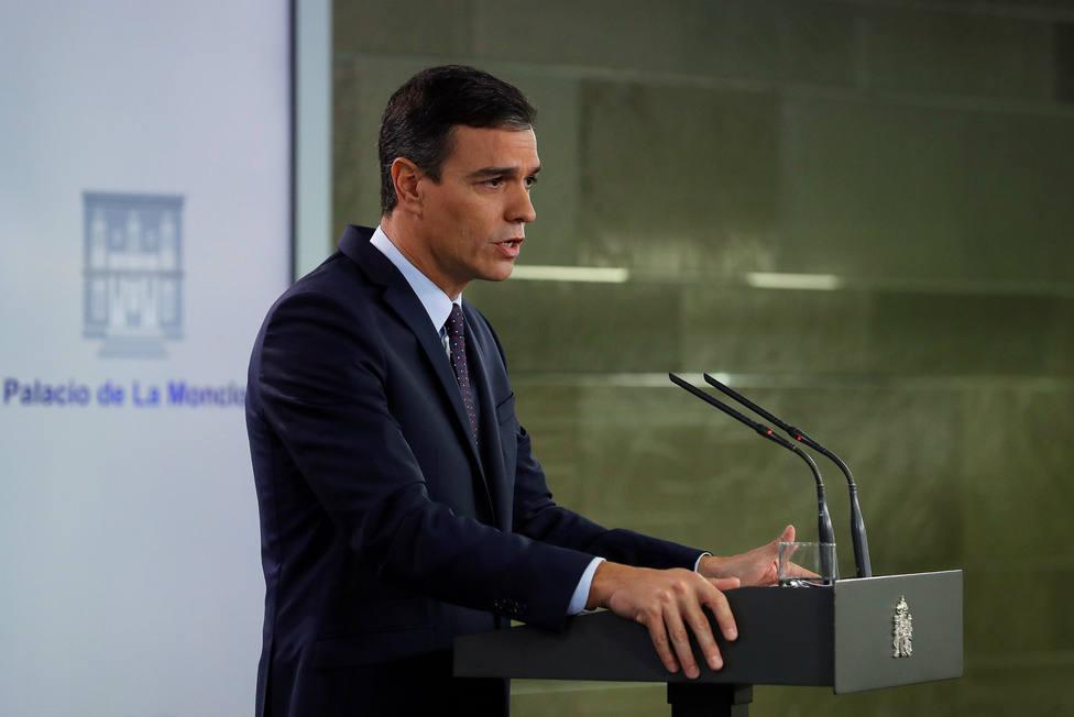Moncloa asegura que la violencia en Cataluña es fruto de una minoría y llama a garantizar la seguridad
