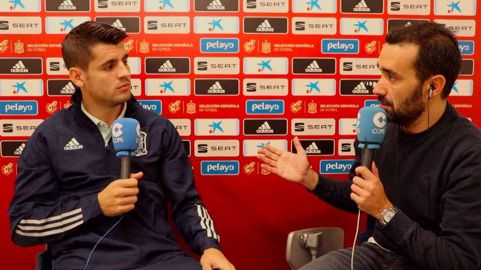 Morata, en El Partidazo de COPE: