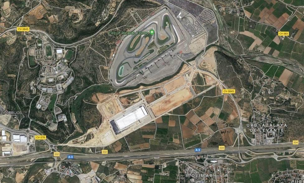 Fallece un hombre al sufrir un accidente de moto en la A-3 a la altura de Cheste (Valencia)