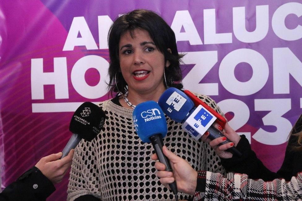 Teresa Rodríguez: Nunca quise un gobierno de Podemos con el PSOE