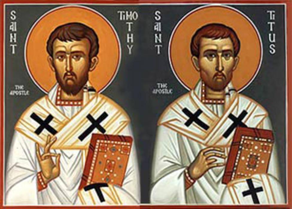 Santos Timoteo y Tito: Frutos de la predicación de San Pablo