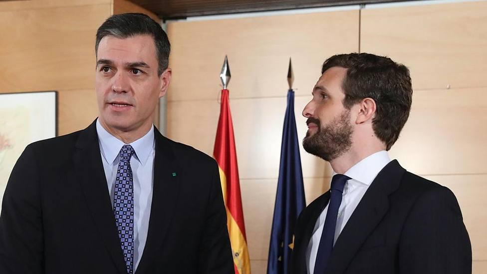 Sánchez escenificará una reunión con Casado pero sin ningunaintención de moderar su posición, y otras noticias