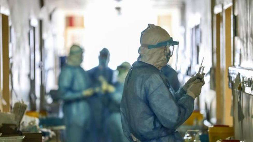 Médicos durante la crisis del COVID-19
