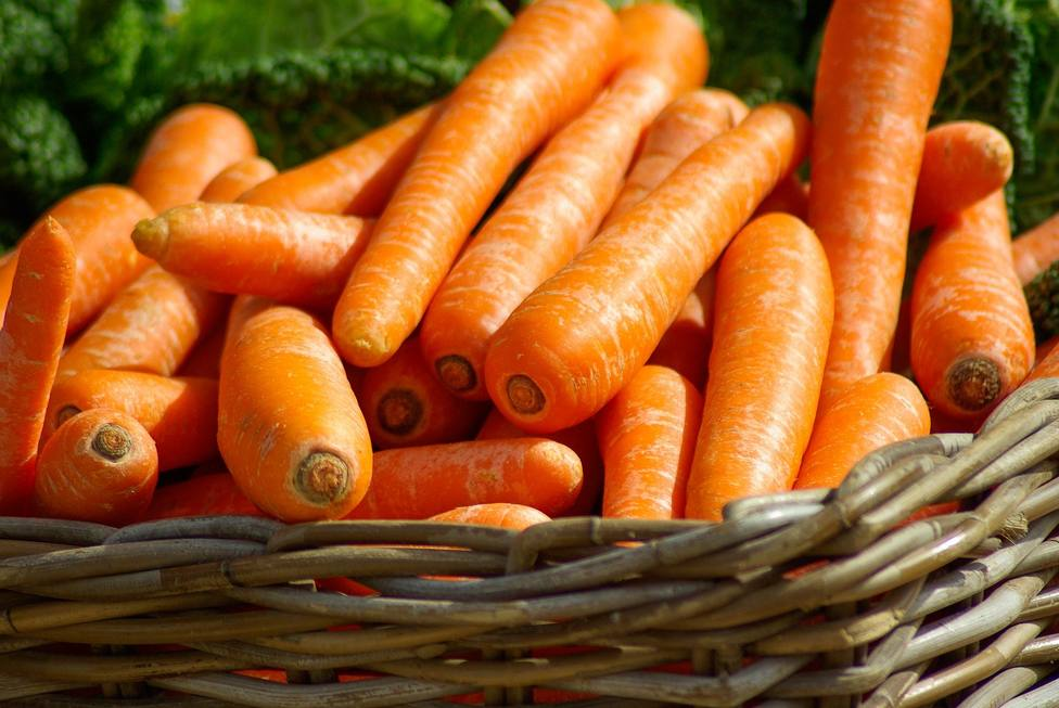 Las zanahorias son buenas para nuestra vista y ayudan a broncearnos
