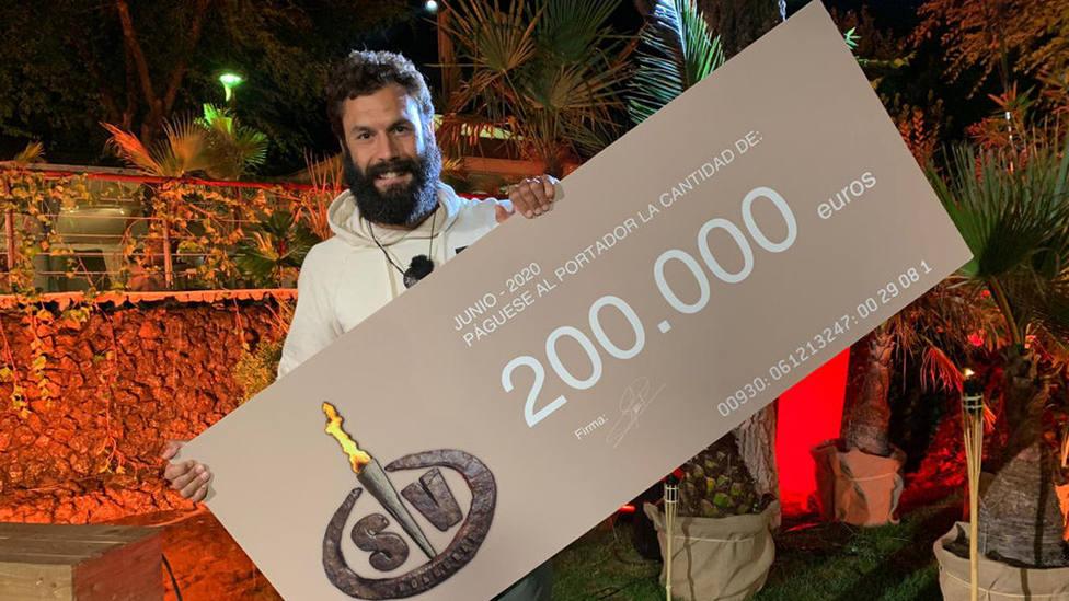 Jorge Pérez ganador de Supervivientes 2020; los valores y la humildad se imponen con récord en el reality
