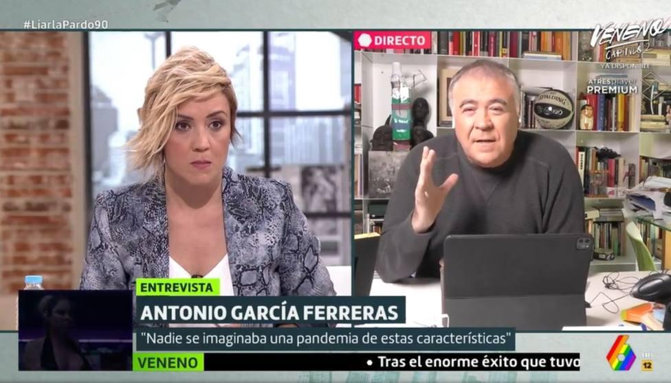Los malabarismos de Ferreras para defender al Gobierno: Es achacable a los expertos