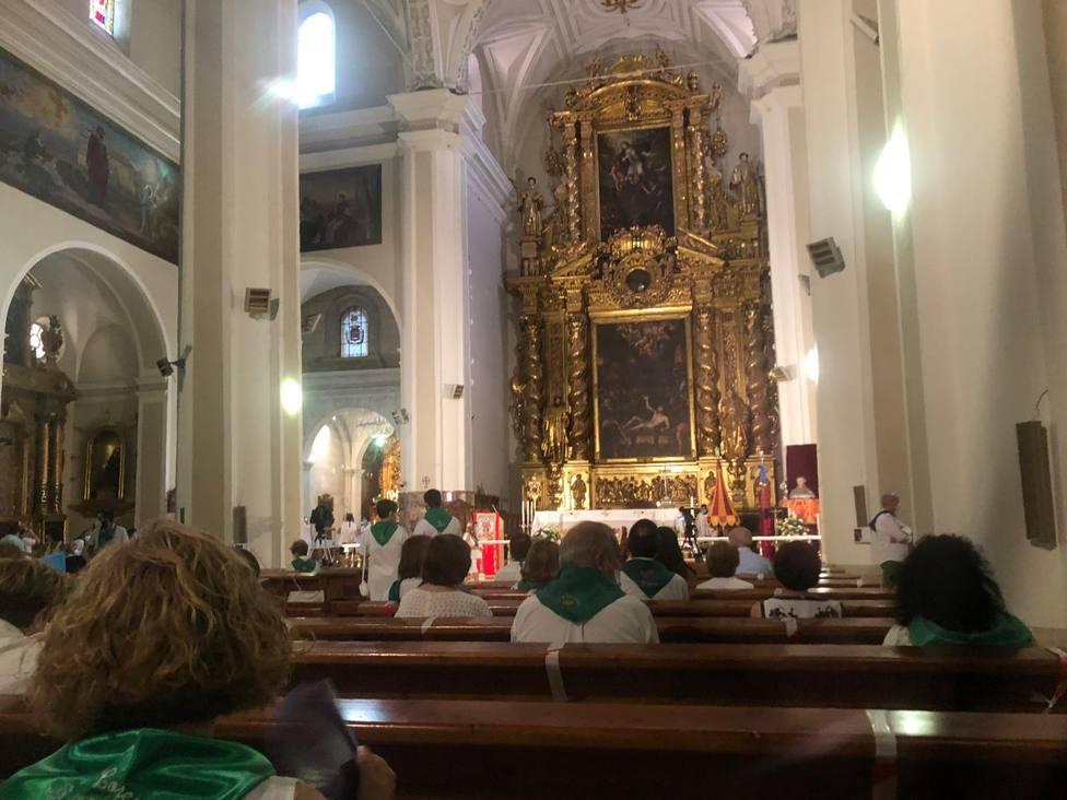 """El obispo de Huesca llama a """"revisar nuestras prioridades vitales"""" en un 10 de agosto empañado por la COVID19"""