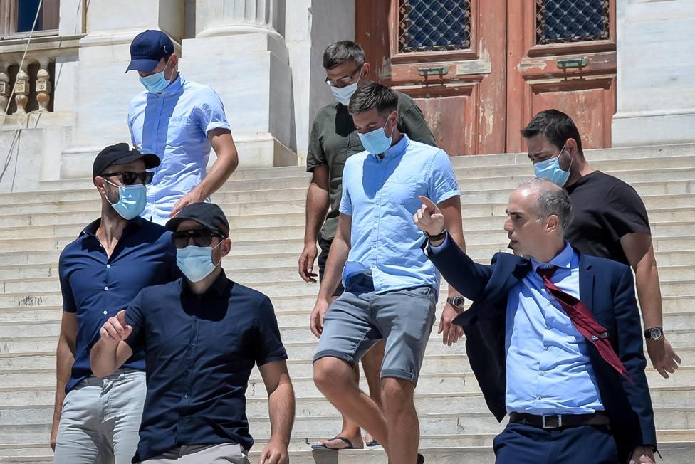 Anulado el juicio que condenaba a Harry Maguire por su pelea en un bar de Grecia
