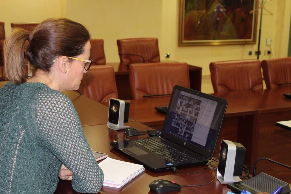 Maria del Carmen Moreno, alcaldesa de Águlas pideresponsabilidad y comprensión para poder afrontar esta crisis