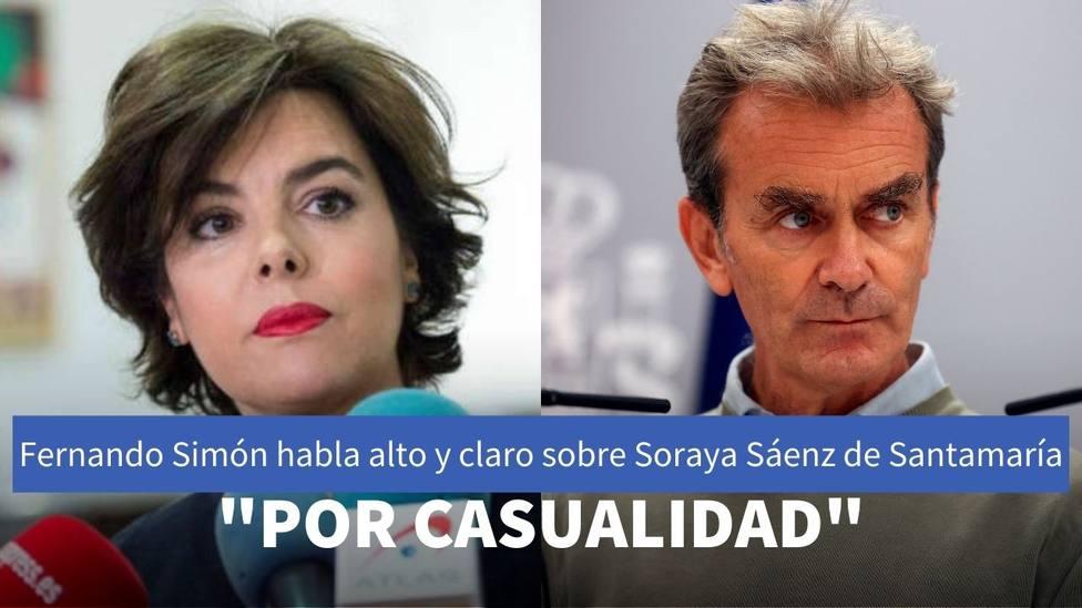 Fernando Simón habla alto y claro sobre Soraya Sáenz de Santamaría en Planeta Calleja