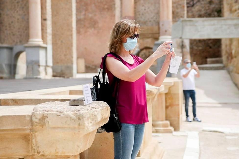 El Teatro Romano de Cartagena amplía horario y días de apertura durante el puente