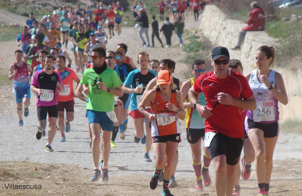 Última carrera popular en Fuentealbilla en marzo 2020