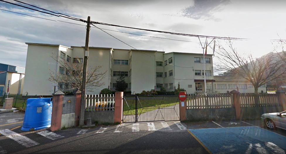 Foto de archivo del colegio Manuel Fraga Iribarne de Cariño