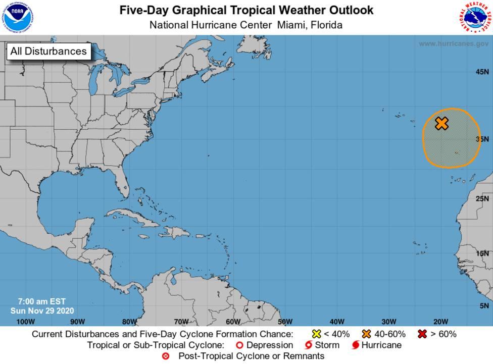 Clement borrasca, tormenta subtropical