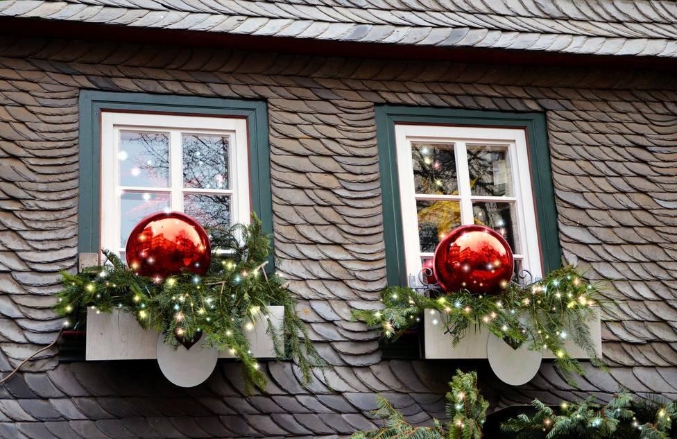 Neda premiará la decoración navideña de viviendas y escaparates