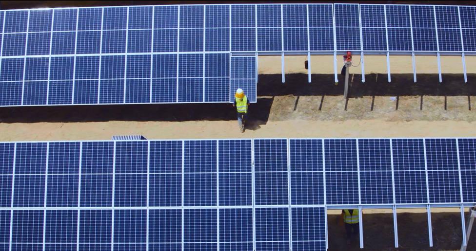 Un curso gratuito en Cáceres forma para empleo en sector fotovoltaico