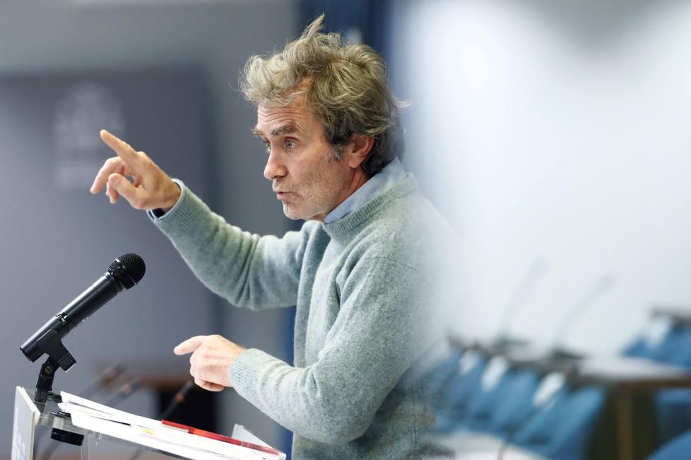 Fernando Simón: Nuestras UCIS van a sufrir en los próximos días