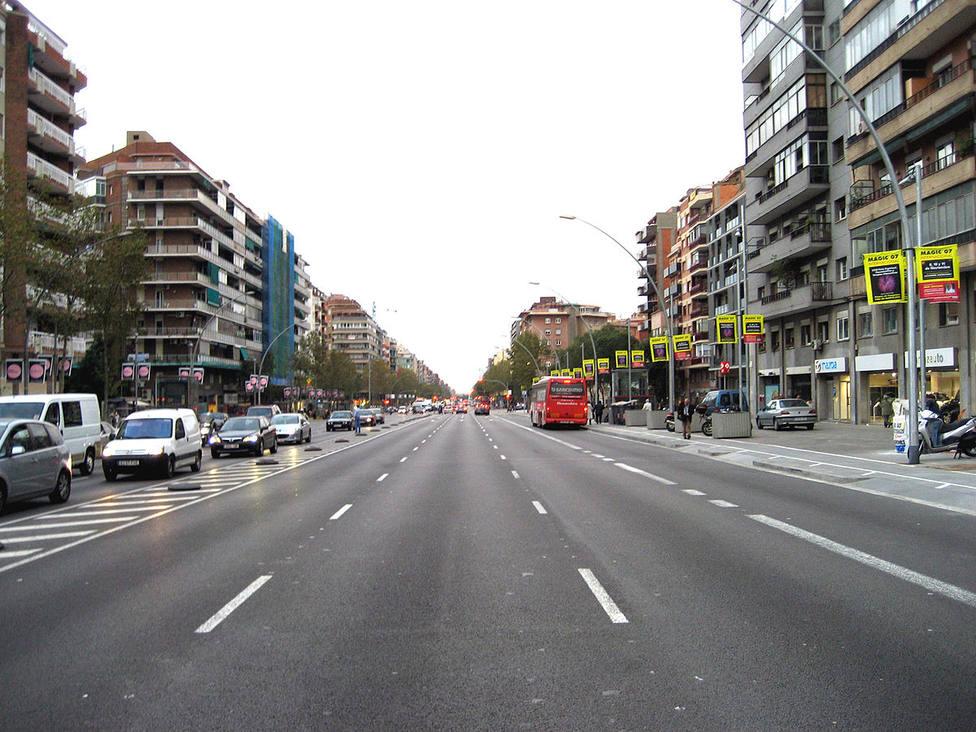 La Avenida Meridiana