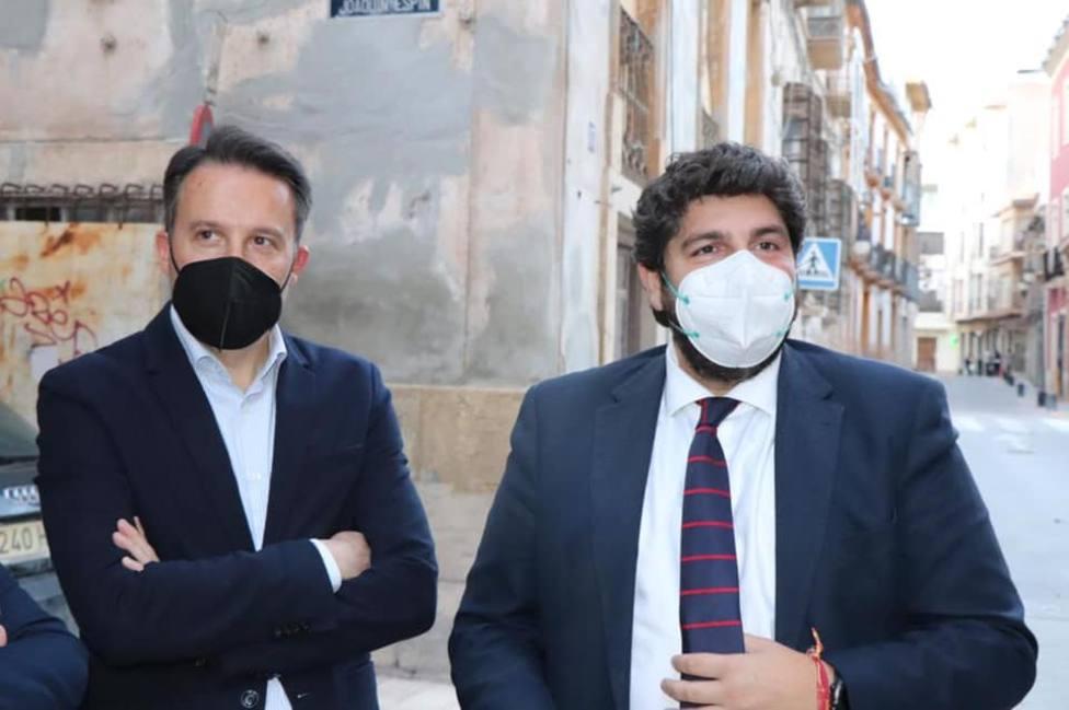 López Miras confirma que Gil repetirá como candidato a la alcaldía de Lorca