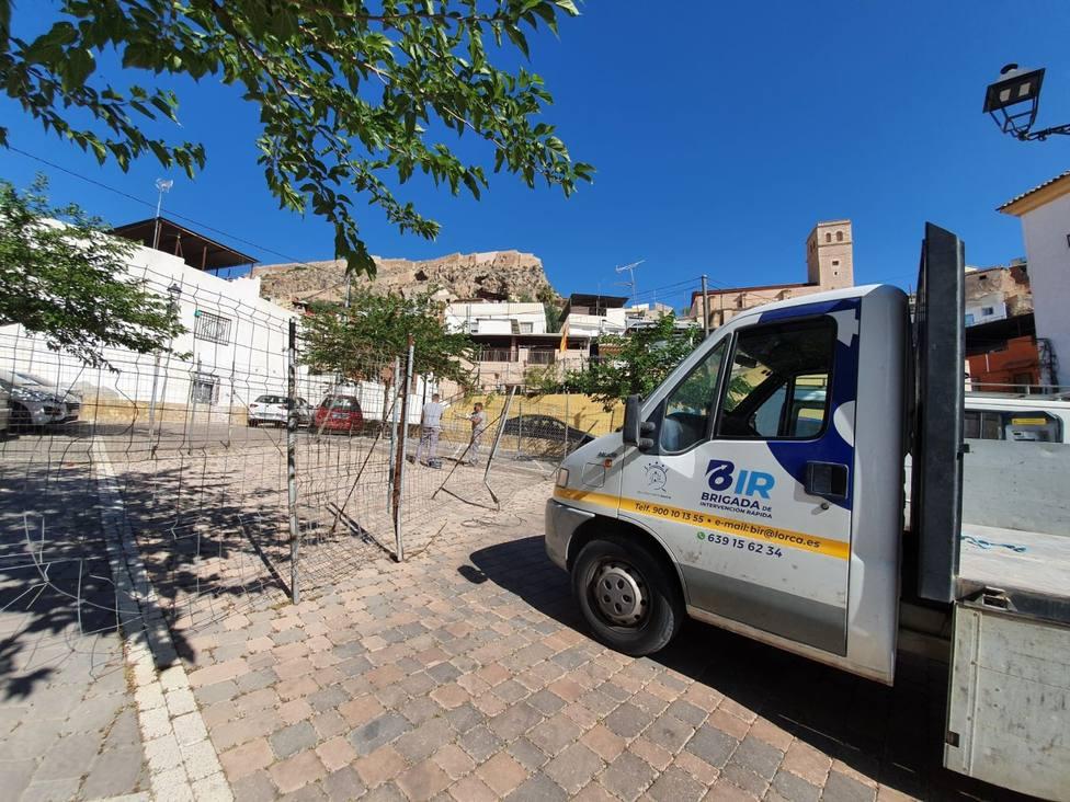 La BIR ha atendido, en los últimos dos años, cerca de 2.000 incidencias en Lorca