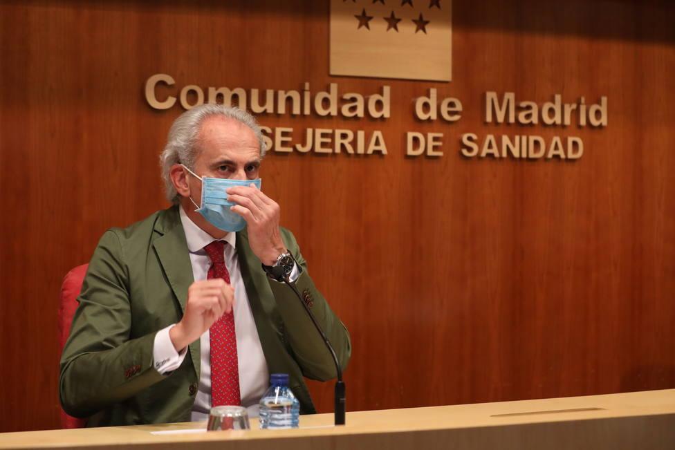 Madrid notifica 233 casos nuevos, 153 de las últimas 24 horas, y 14 fallecidos más