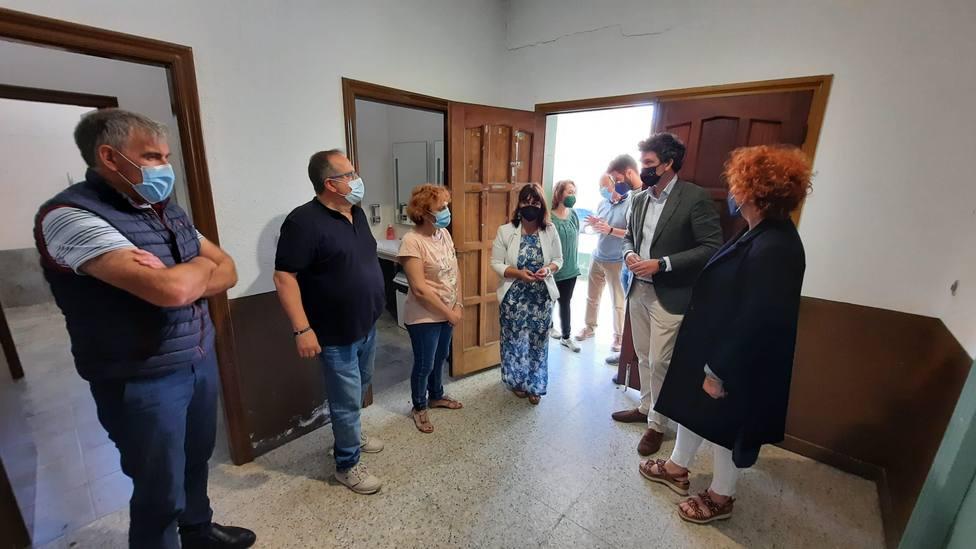 Visita del delegado territorial de la Xunta a Barreiros