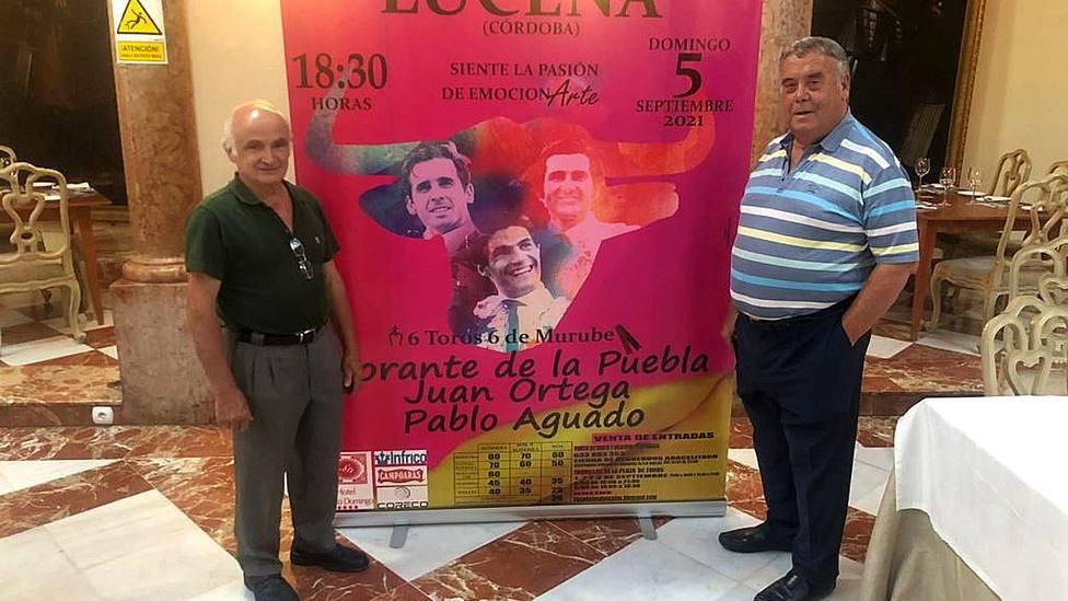 Acto de presentación del cartel de la feria de Lucena (Córdoba)