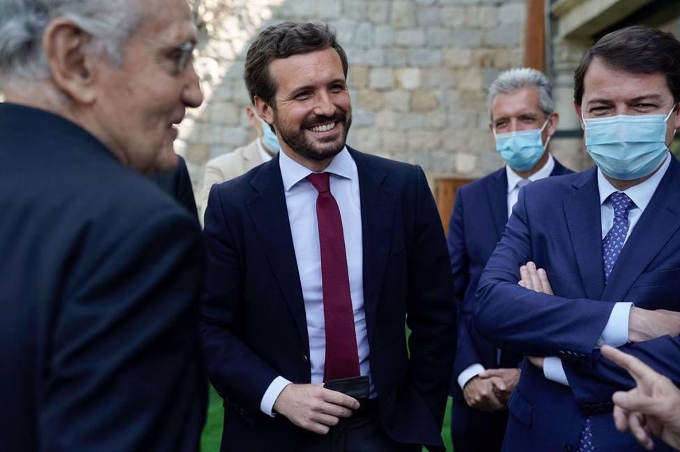 Casado tacha de bochornosa la gira de Sánchez en EE. UU y le pide respeto para España