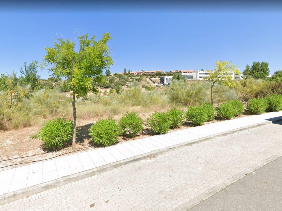 Parcela de Torrelodones en la que se construirá el Plan Vive /Google Maps