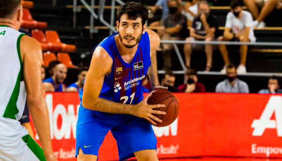 Alex Abrines, jugador del Barcelona de baloncesto (@FCBbasket)