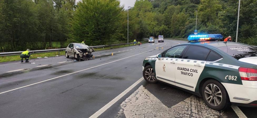 Accidente de tráfico en Olloniego