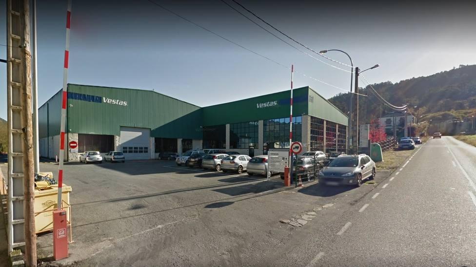Fábrica de Vestas en Chavín, Viveiro